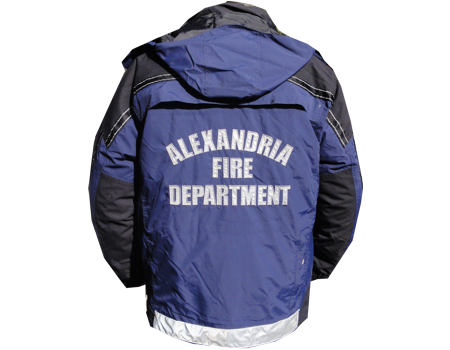 Ambulance Jacket Back